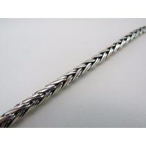 Cordão De Bali Palmera 60cm Em Prata 925 Masculina