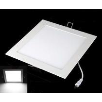 Painel Plafon 18w Luminaria Led Quadrado Embutir Ultra Slim