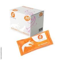 Kit Manicure Descartável (50 Unidades) - Luvas Higienicas