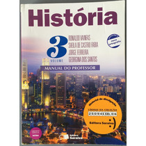 Livro História Vol 3 Manual Do Professor.