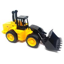 Brinquedo Trator Carregadeira New Holland Braço De Elevação