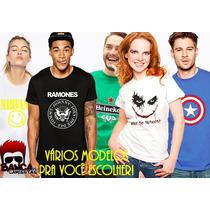 Camisetas E Baby Looks Personalizadas Engraçadas Banda Games