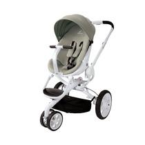 Carrinho De Bebê Quinny Moodd Stroller - Cinza C/ Branco