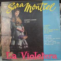 Lp Sara Montiel Interp Musicas La Violetera Exx Estado