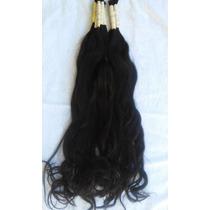 Cabelo Humano P/mega Hair Levemente Ondulado 70cm 50 Gramas.