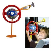 Volante Interativo Infantil Eletrônico Musical Sons Carro Lu