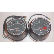 Painel Honda Cg 125 77 A 82 Bolinha Velocimetro + Contagiro