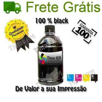 500 Ml Preto Recarga Hp Lexmark Canon Xeron Brother Bulk Ink