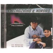Chitãozinho & Xororó-novo Millennium-20 Músicas Cd Novo Lacr