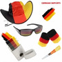 Kit Torcedor Da Alemanha Futebol – Óculos Chapéu Tinta Apito