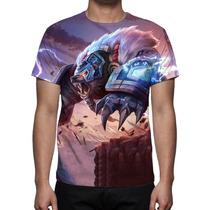 Camisa, Camiseta League Of Legends Volibear Trovão