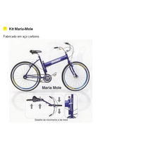 Quadro De Bicicleta Tipo Maria Mole
