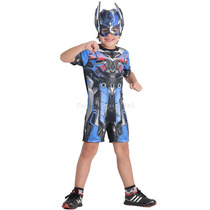 Fantasia Optimus Prime Infantil Pop Transformers 4 C/ Máscar