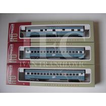 3 Vagões Carro De Passageiro Ho Trem Elétrico Frateschi