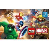 Lego Marvel Super Heroes # Ps4 2ª # Não Compre! A L U G U E