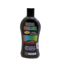 Cera Automotiva Colorida Cinza 200g Polidora