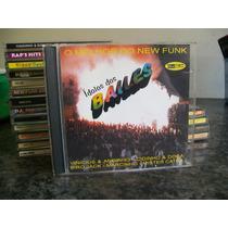 Cd Ídolos Dos Bailes - O Melhor Do New Funk ( Dj Marlboro )