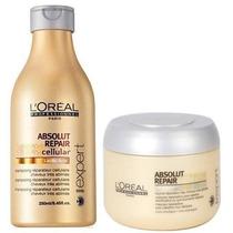 Kit Shampoo Loreal Ab Repair 250ml + Mascara Ab Repair 150ml