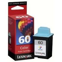 Cartucho De Tinta Lexmark 60 Colorido 17g0060 100%original!!