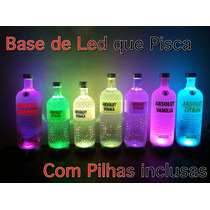 Base De Led Que Pisca C/ Pilhas Inclusas - Vodka, Big Apple