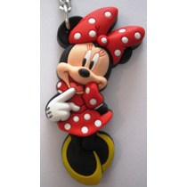 Chaveiro - Minie Mouse - Borracha - Original Disney