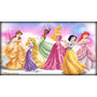 Big Painel De Festa Princesas Disney - 3x2