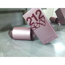 Perfume 212 Sexy Fem 100ml Carolina Herrera Lacrado Original
