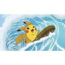 Pokemon Pikachu Surf Hold Hands Legítimo Evento Japão X Y