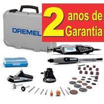 Micro Retifica Dremel 4000 + Kit 39 Acessórios + Maleta 110v