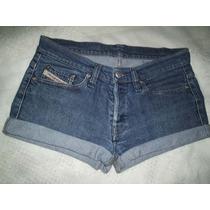 Shorts Jeans Marca Famosa Tamanho 36 Frete Gratis