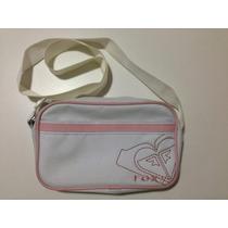 Bolsa Feminina Roxy - Original - Branca / Rosa