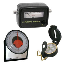Satelite Finder Analogico + Bussola + Inclinometro 8084