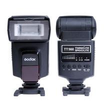 Flash Speedlite Godox Tt560 Gn38 Camera Canon Nikon Fuji
