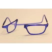 Óculos Clic - 100% Original - Veja Vídeo - Cor.azul
