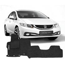 Carpete Personalizado Honda Civic 2012 À 2014 Frete Grátis