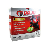 Bateria Moto 12 Volts Naja Nj12-5,5 - Yamaha Rd 135 Ybr 125