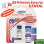 Kit Primeiros Socorros Dental + Brinde!! / Frete R$8,00