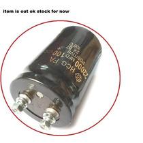Capacitor Eletrolitico 22.000uf X 100v * 22000uf X 100v 105c