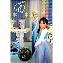 Fantasia Princesa Elsa Com Capa E Sapatilha... Super Luxo!!!