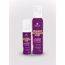 Dihair Kit Mousse Matizador Instantâneo Blond - 150ml + 50ml