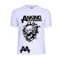 Camisas Camisetas Asking Alexandria Punk Reggae Rock Música