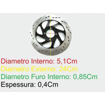 Disco Freio Dianteiro Moto Suzuki Yes 125