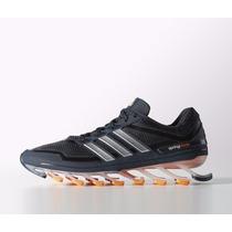 Tênis Adidas Springblade Masculino Preto/laranja Original