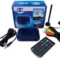 Receptor De Tv Digital Automotivo Para Dvd Player E Monitor