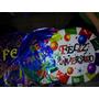 20 Balão Feliz Aniversário Para Gás Hélio Festa Bexiga