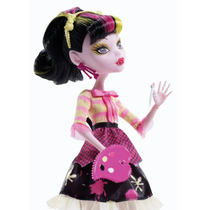 Boneca Draculaura Monster High Aula De Artes-original Mattel