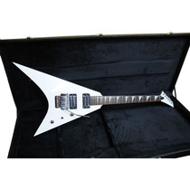 Guitarra Art Pro Flying V Randy Rhoads Branca C/ Case Saldo
