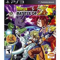 Dragon Ball Z Battle Of Z - Original Ps3 Envio Imediato
