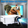 Mini Projetor 80 Pol Hdmi C/ Controle, Usb, Sd, Av, Avg