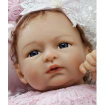 Boneca Bebê Reborn Viva Real Silicone Vinil Entrega 60 Dias